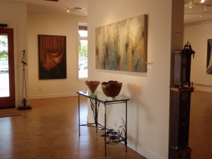 The entryway to the Quicksilver Gallery